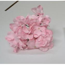 Pink Hydrangea Flower Heads - Pack of 10