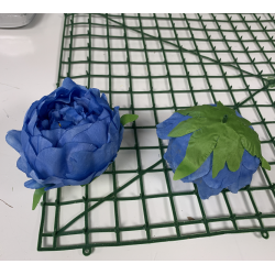 Royal Blue Peony Heads Closed - Pack of 10