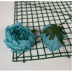 Turquoise Peony Heads Closed - Pack of 10