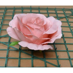 Blush Pink Rose Heads - Pack of 10
