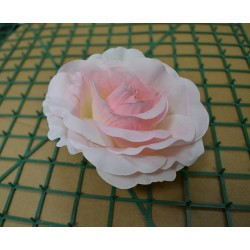 Pink Rose Heads - Pack of 10