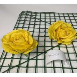 Yellow Rose Heads - Pack of 10