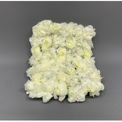 Ivory Flower Wall Panel