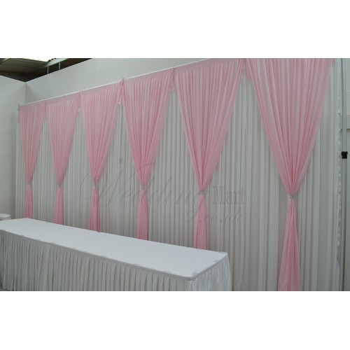 6 Panels Pink Grecian Backdrop Overlay