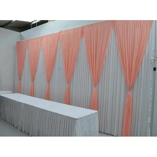 6 Panels  Peach Grecian Backdrop Overlay