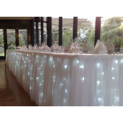 6M LED Lights for Top Table Skirt