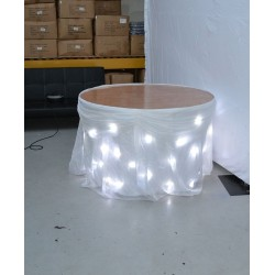 3M LED Starlight Wedding Cake Table Skirt