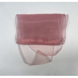 Dusky Pink Organza Chair Bows - PACK of 10