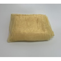 Light Gold Organza Chair Bows - PACK of 10