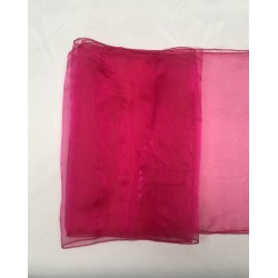 "Hot Pink Organza Table Runners (14""x108"")"