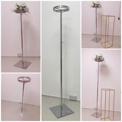 250cm Telescopic Flower Pedestal Stand