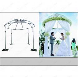 Pipe and Drape Round Dome Kit