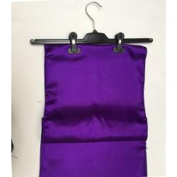 "Cadbury Purple Satin Table Runner (14""x108"")"