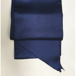Navy Blue Satin Sash - PACK OF 10