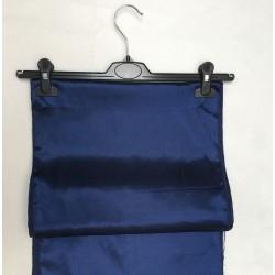 """Navy Blue Satin Table Runner (14""""x108"""")"""