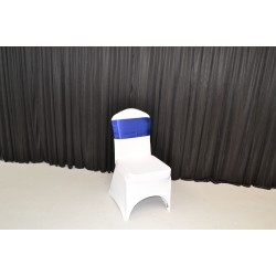 Royal Blue Satin Sash - PACK OF 10