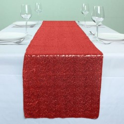 Red Sequin Table Runners