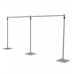 6Mx3M Heavy Duty Telescopic Backdrop Stands