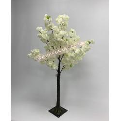 120cm Ivory Artificial Blossom Tree