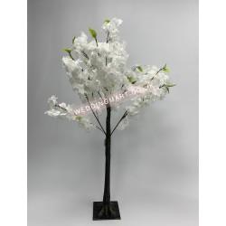 120cm White Artificial Cherry Blossom Tree