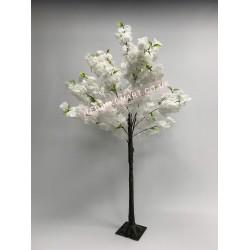 150cm White Artificial Blossom Tree