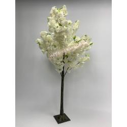 150m Ivory Artificial Blossom Tree
