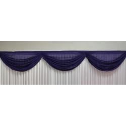 3m Purple Voil Swag